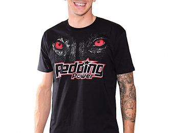 Scott Redding Mens T-Shirt Black, with Eyes