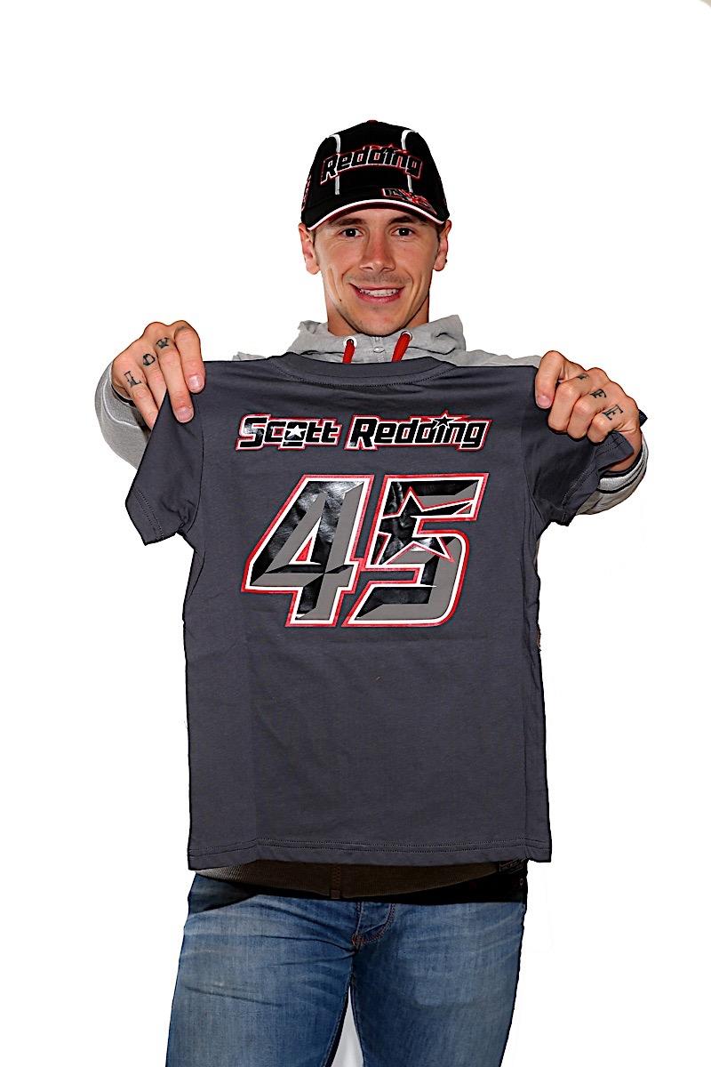New Official Scott Redding White Woman/'s T Shirt SRW TS 2006 06