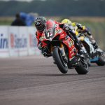 Scott takes to the podium at Thruxton